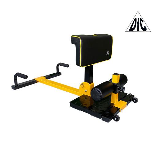 Тренажер для приседаний / гиперэкстензия Squat Machine DFC S035YW