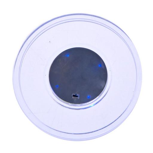 Шайба для аэрохоккея LED «Atomic Lumen-X Laser» (прозрачная, синий светодиод) D65 mm