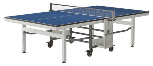 "Складной стол для настольного тенниса ""RASSON PREMIUM R200"" (274 х 152,5 х 76 см, серебрянный туман) с сеткой"