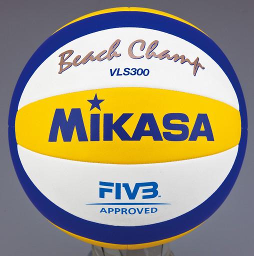 Мяч волейбольный пляж. Mikasa, арт. VLS300