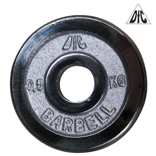 Диск хромированный DFC, 26 мм, 0,5 кг