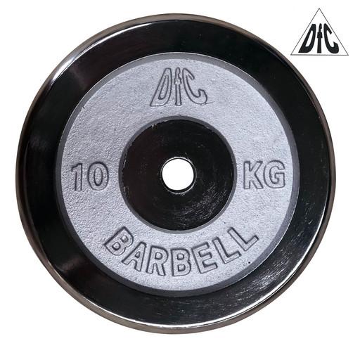 Диск хромированный DFC, 26 мм, 10 кг