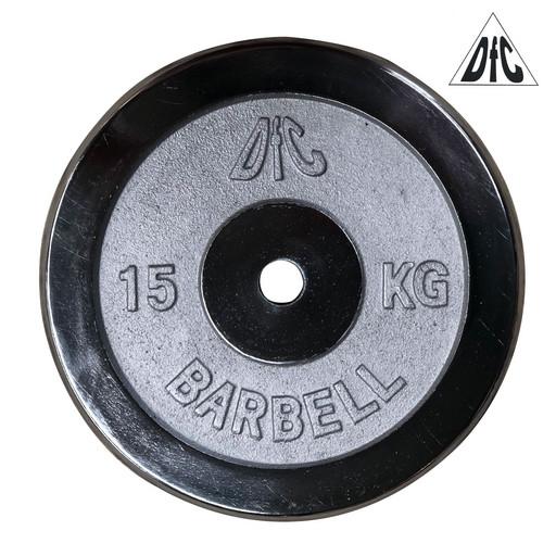 Диск хромированный DFC, 26 мм, 15 кг