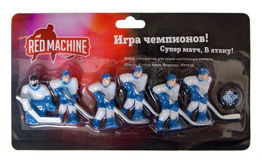 Комплект игроков с шайбой «Юниор» (синий)