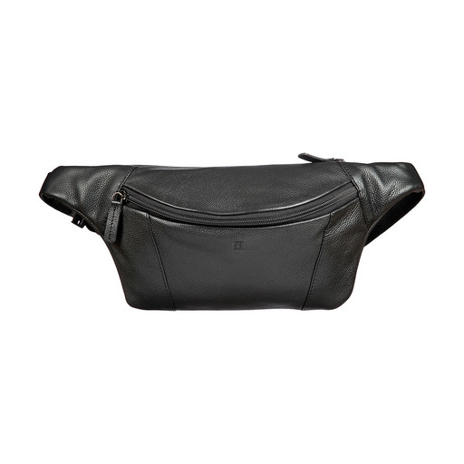 Мужская сумка на пояс Sergio Belotti 012-2313 DENIM BLACK
