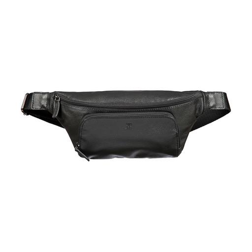 Мужская сумка на пояс Sergio Belotti 012-2315 DENIM BLACK