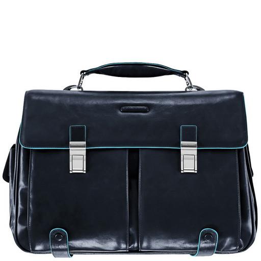 Портфель с двумя замками Piquadro CA1068B2/BLU2