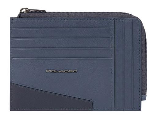Чехол для кредитных карт Piquadro Hakone PU1243S104R/BLU