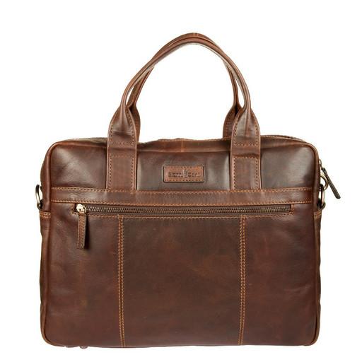 Бизнес-сумка GIANNI CONTI 1221266 DARK BROWN