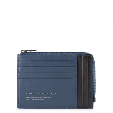 Чехол для банковских карт Piquadro PU1243DTR/BLU