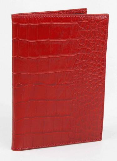 Обложка для автодокументов Alvorada 2001 RED CROCO