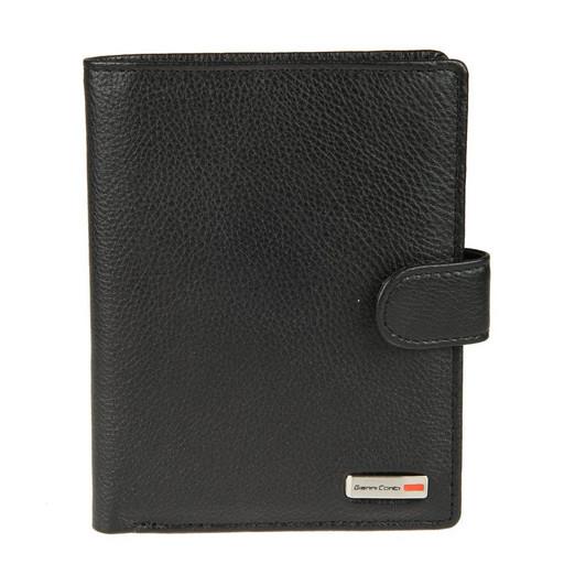Портмоне с отделом для паспорта GIANNI CONTI 1607481 BLACK