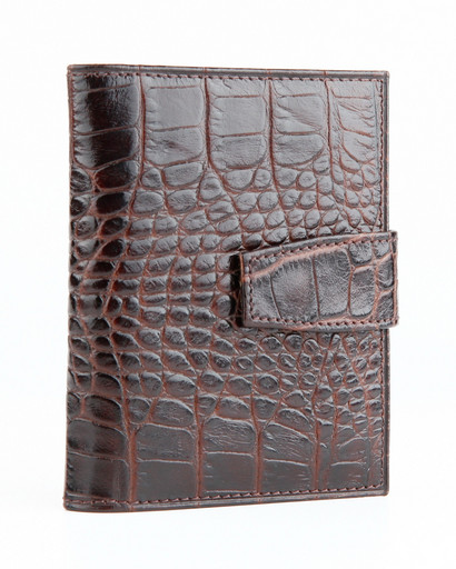 Визитница Alvorada 3001N BROWN CROCO