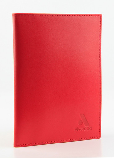 Обложка для автодокументов Alvorada 2001 RED