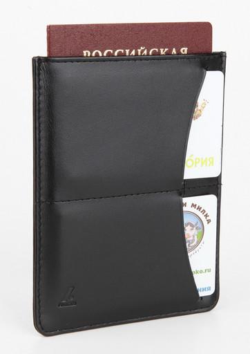 Обложка для паспорта и автодокументов Alvorada 3026 BLACK LADYA