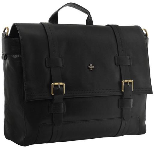 Портфель мужской кожаный NarVin 9762 N.Vegetta Black