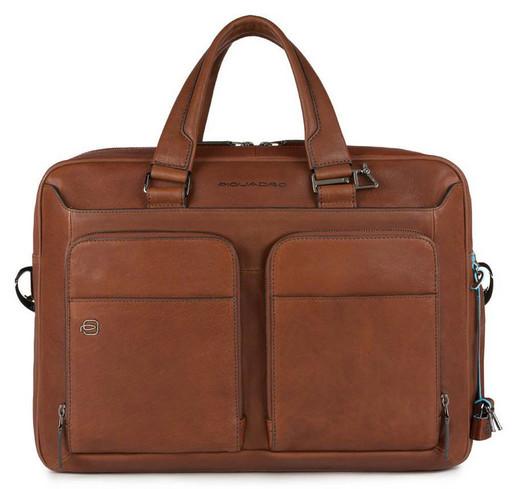 Кожаная бизнес сумка Piquadro CA2849B3/CU