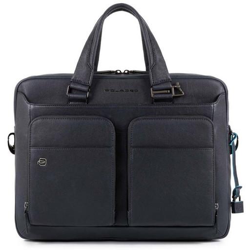 Кожаная бизнес сумка Piquadro CA2849B3/BLU