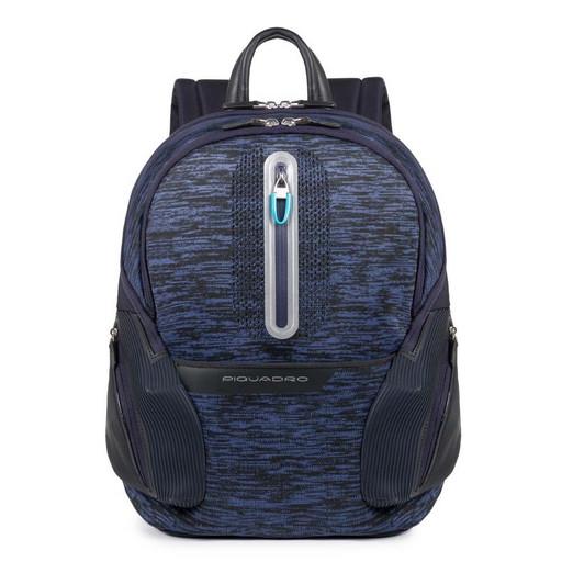 Светоотражающий рюкзак с USB портами для зарядки Piquadro CA3936OS37/BLU