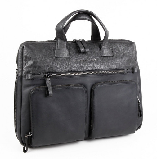 Кожаная деловая сумка Piquadro CA4487W89/N