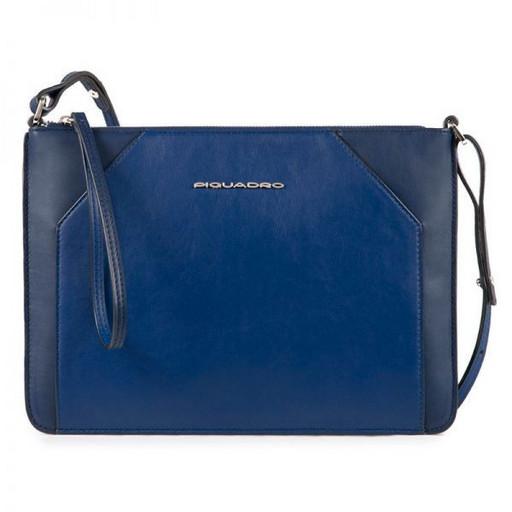 Женская сумка-клатч Piquadro AC4329MUS/BLU