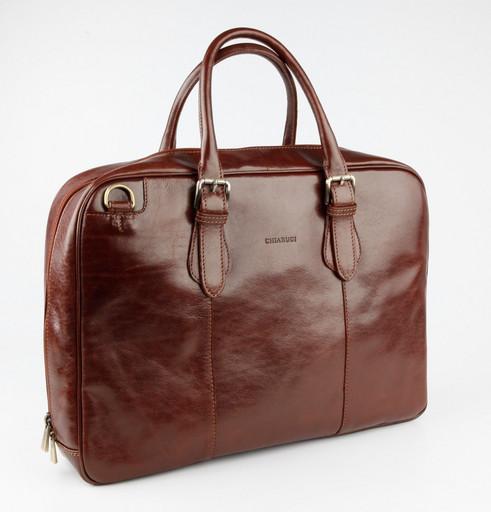 Кожаная сумка для документов Chiarugi 4586 MARR