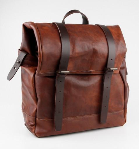 Кожаный мужской рюкзак Chiarugi 54001 MARR