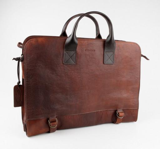 Кожаная сумка для документов Chiarugi 54003 MARR