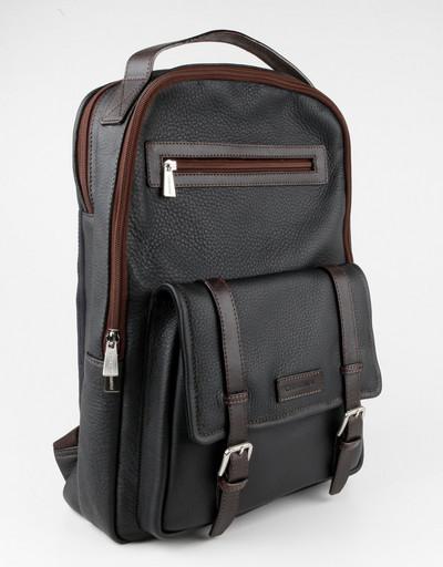 Кожаный рюкзак Chiarugi 74623 NERO