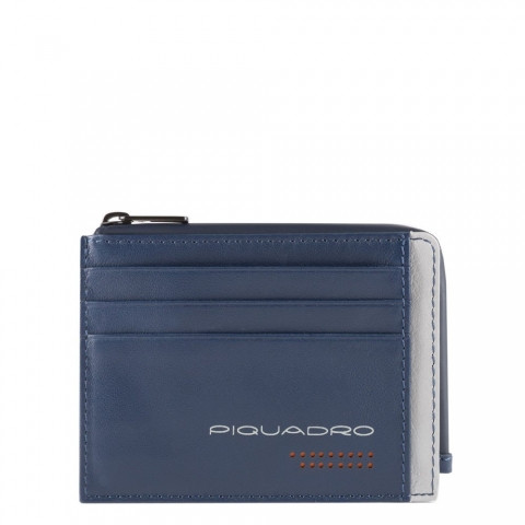 Чехол для банковских карт Piquadro PP4822UB00R/BLGR