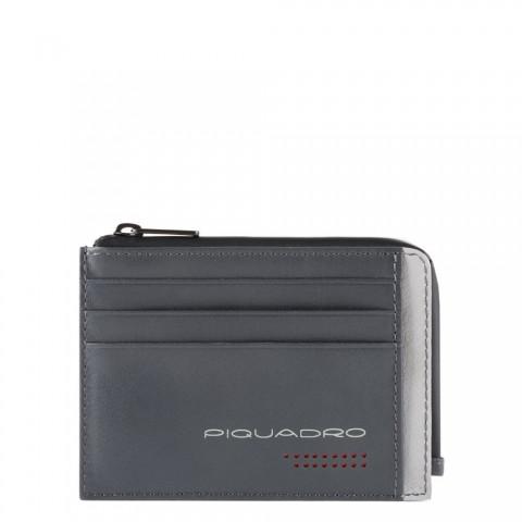 Чехол для банковских карт Piquadro PP4822UB00R/GRN