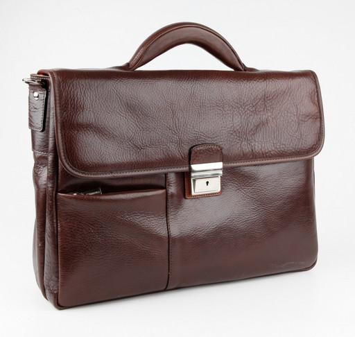 Портфель с отделением для ноутбука Chiarugi 94583 MORO