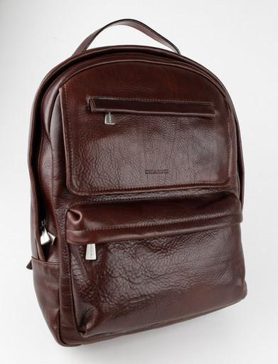 Кожаный мужской рюкзак Chiarugi 94634 MORO