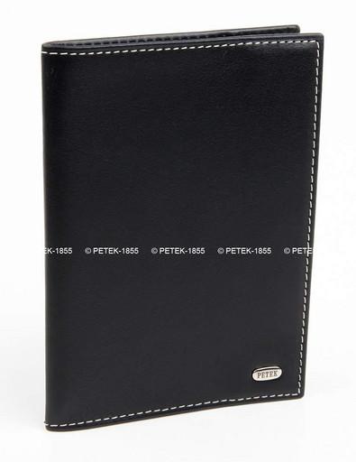 Кожаная обложка для паспорта Petek 581.000.KD1