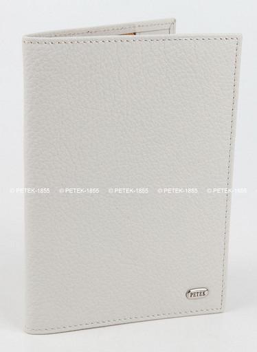 Женская кожаная обложка для паспорта Petek 581.046.20