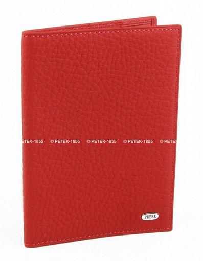 Обложка для паспорта кожаная Petek 581.234.10