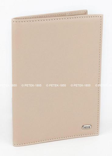 Обложка для паспорта кожаная Petek 581.4000.28