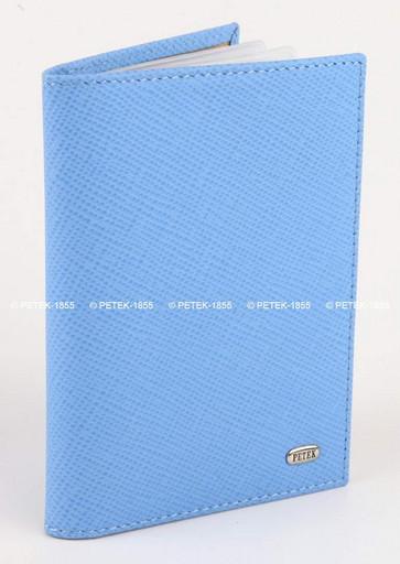 Кожаная обложка для автодокументов Petek 584.193.74