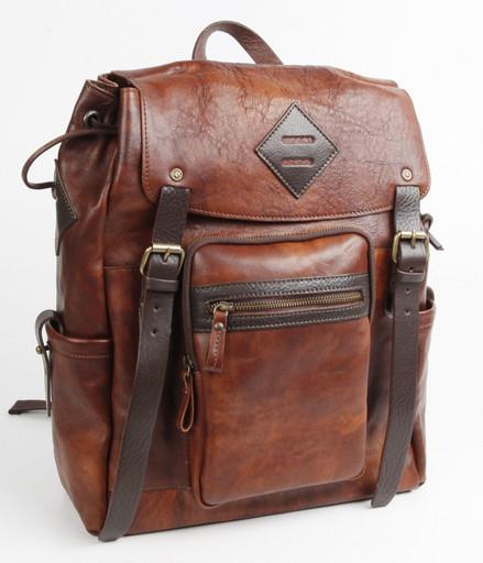 Кожаная сумка-рюкзак Chiarugi 54010 MARR