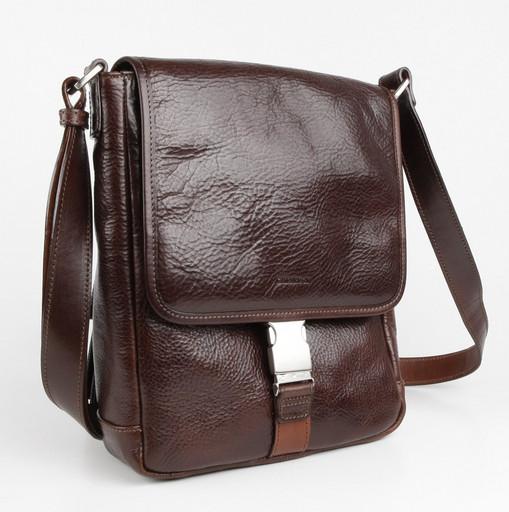 Мужская сумка на плечевом ремне Chiarugi 92551 MORO