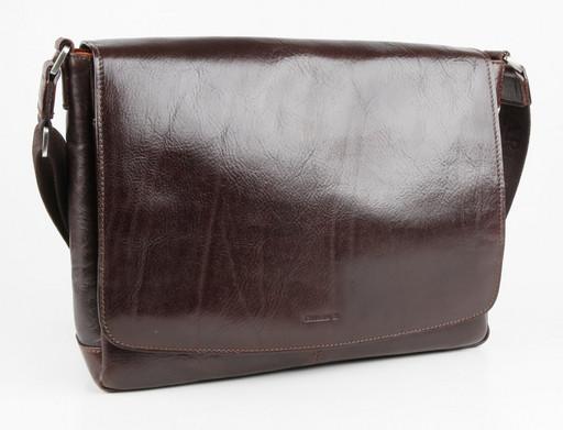 Мужская сумка на плечевом ремне Chiarugi 93512 MORO