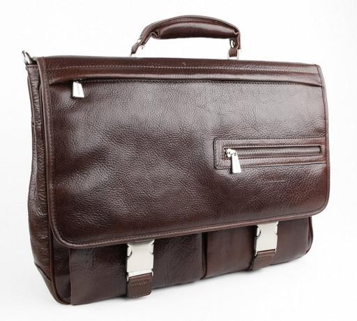 Портфель с отделением для ноутбука Chiarugi 94564 MORO