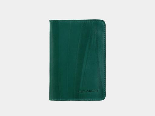 Обложка для паспорта Alexander TS PR006 Green