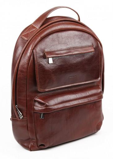 Рюкзак кожаный Chiarugi 94634 MARR