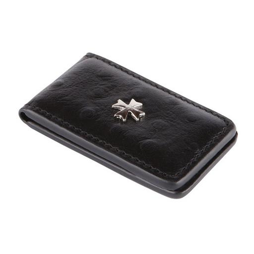 Зажим для денег NarVin 9112 N.Ostrich Black