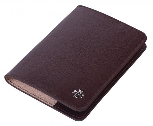 Обложка для паспорта кожаная NarVin 9148 N.Vegetta Funduk