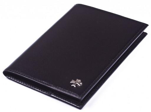 Обложка для паспорта NarVin 9155 N.Vegetta/Black