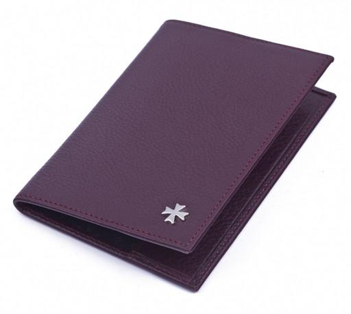 Обложка для паспорта NarVin 9155 N.Polo Blackberry