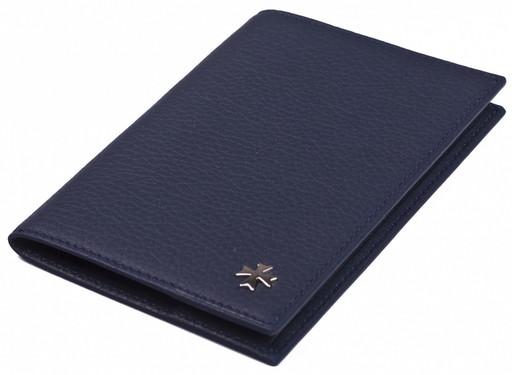 Обложка для паспорта NarVin 9155 N.Polo/D.Blue