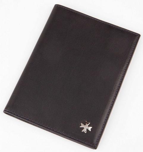 Обложка для паспорта NarVin 9155 N.Vegetta D.Blue
